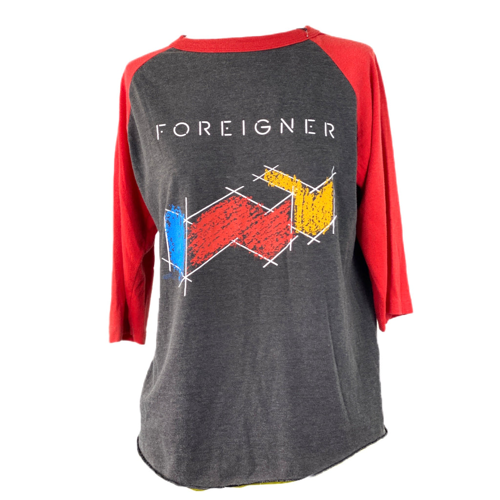FOREIGNER AGENT PROVOCATEUR 1985 TOUR CONCERT T-SHIRT