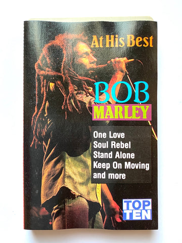 BOB MARLEY AT HIS BEST CASSETTE TAPE