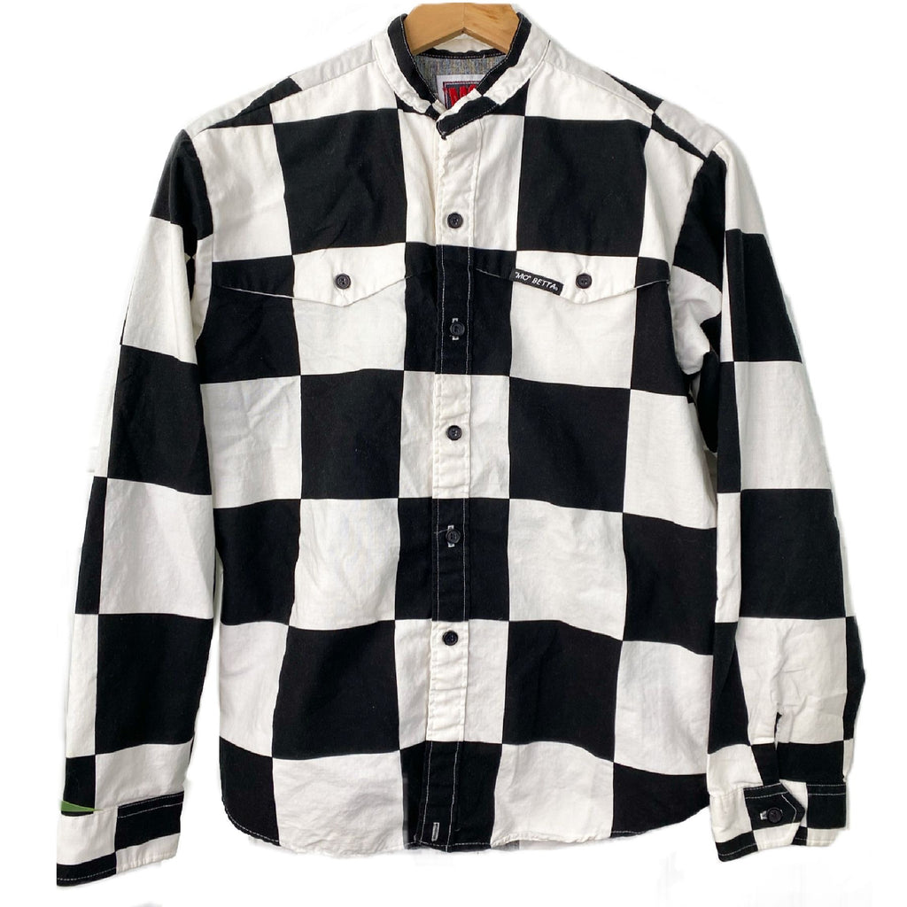 VINTAGE MO BETTA CHECKERED SHIRT KIDS