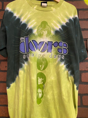 LIQUID BLUE THE DOORS STRANGE DAYS LARGE TIE DYE