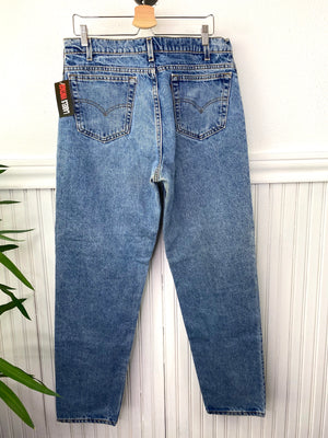 VINTAGE LEVIS 550 JEANS RELAXED TAPER LEG 36