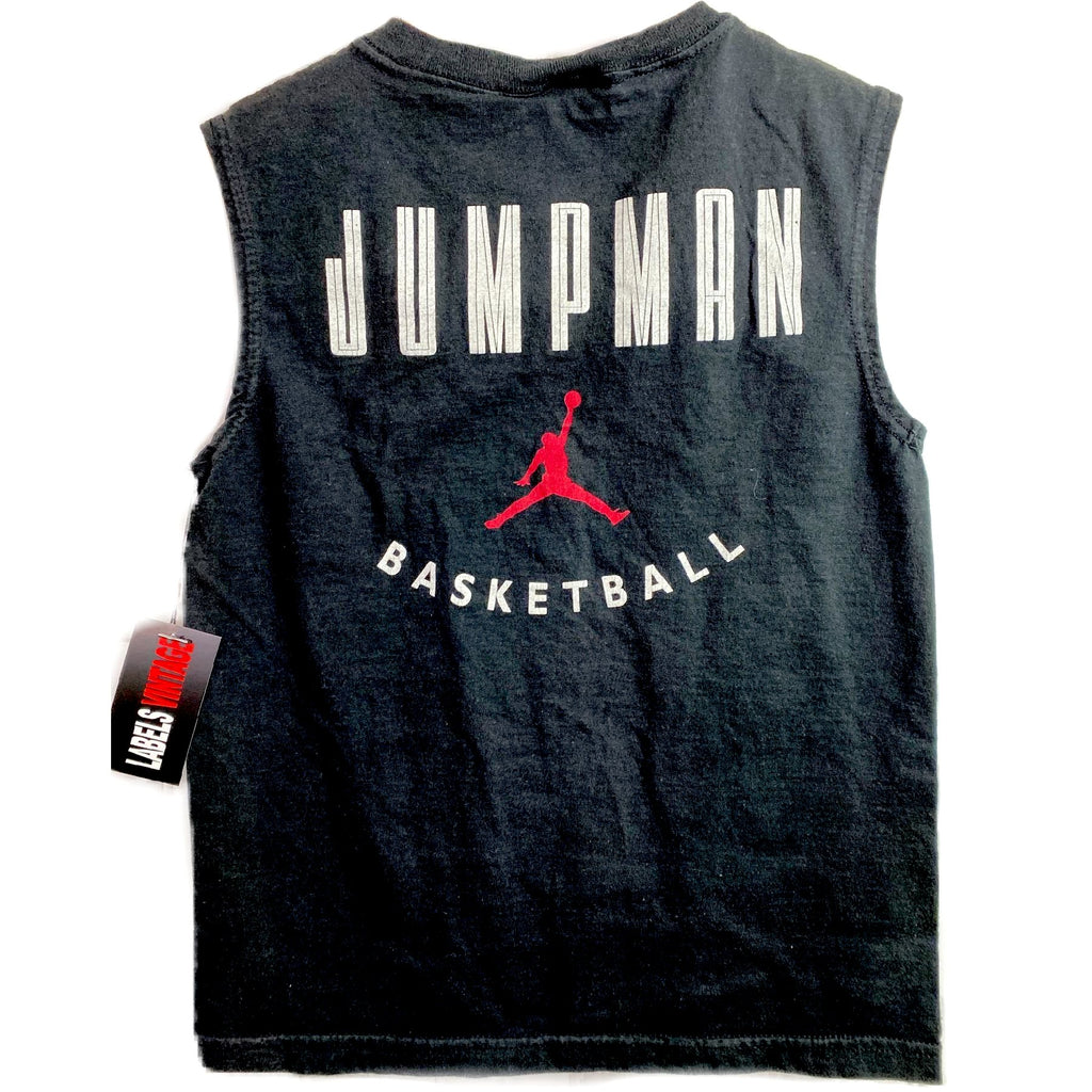 VINTAGE MADE IN USA JORDAN JUMPMAN BASKETBALL T SHIRT KIDS