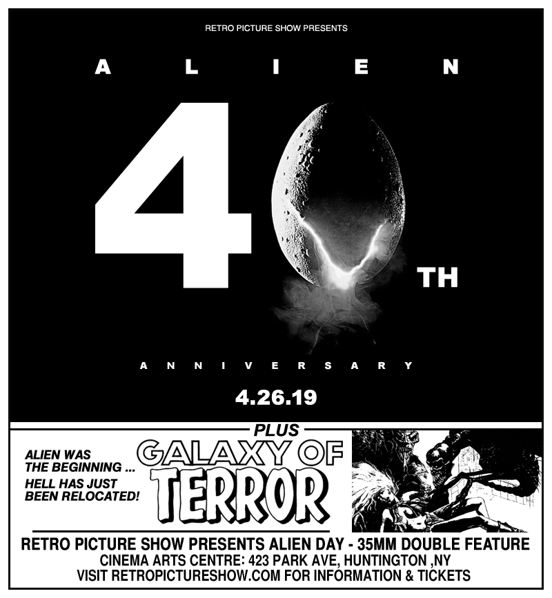 Alien Day (35mm Double Feature)