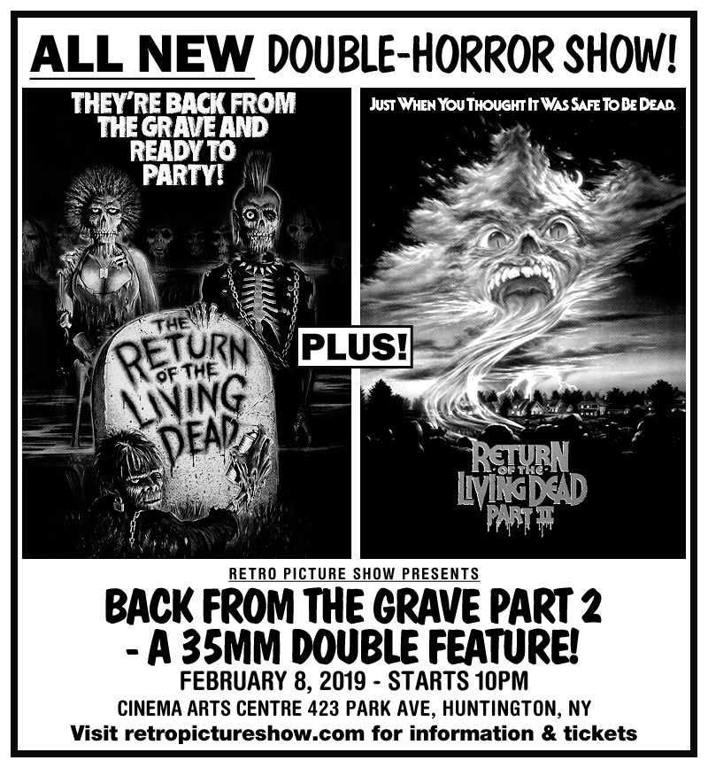 Back from the Grave Part 2 (35mm Double Feature)