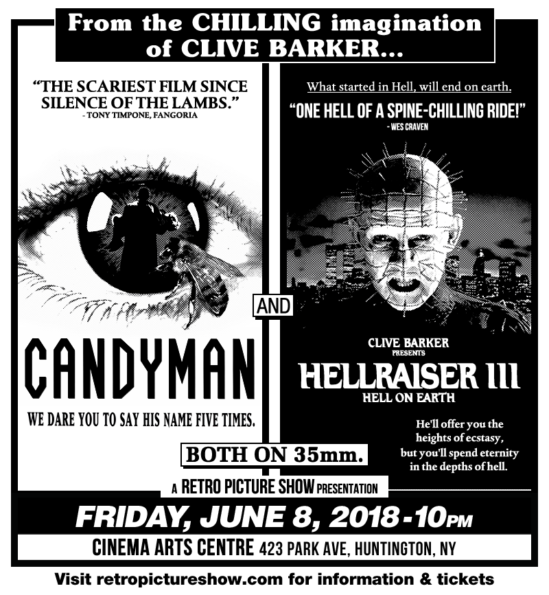 Candyman and Hellraiser III (35mm Double Feature)