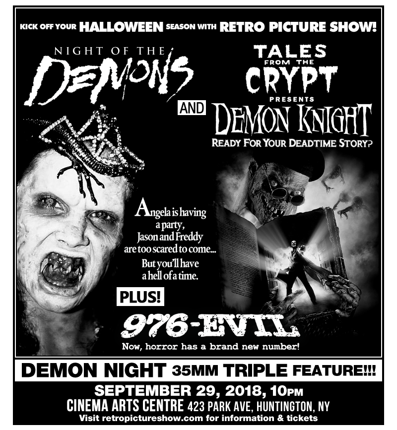 Demon Night (35mm Triple Feature)
