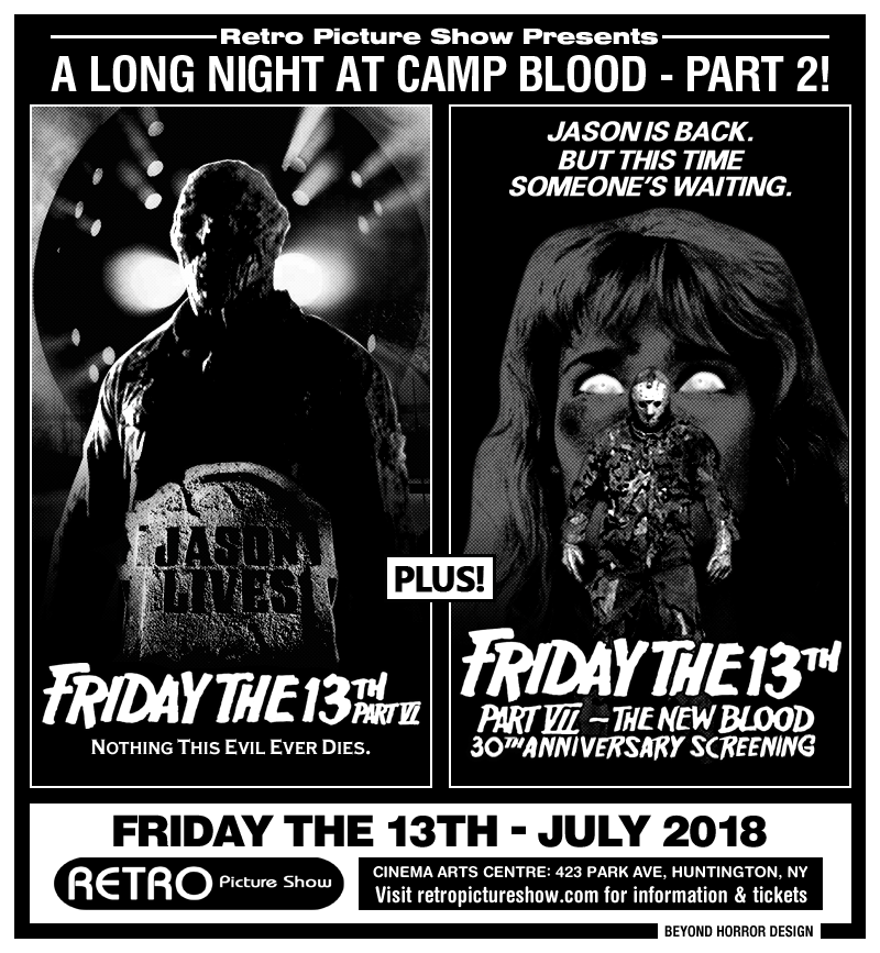 Friday the 13th Parts VI & VII (35mm Double Feature)