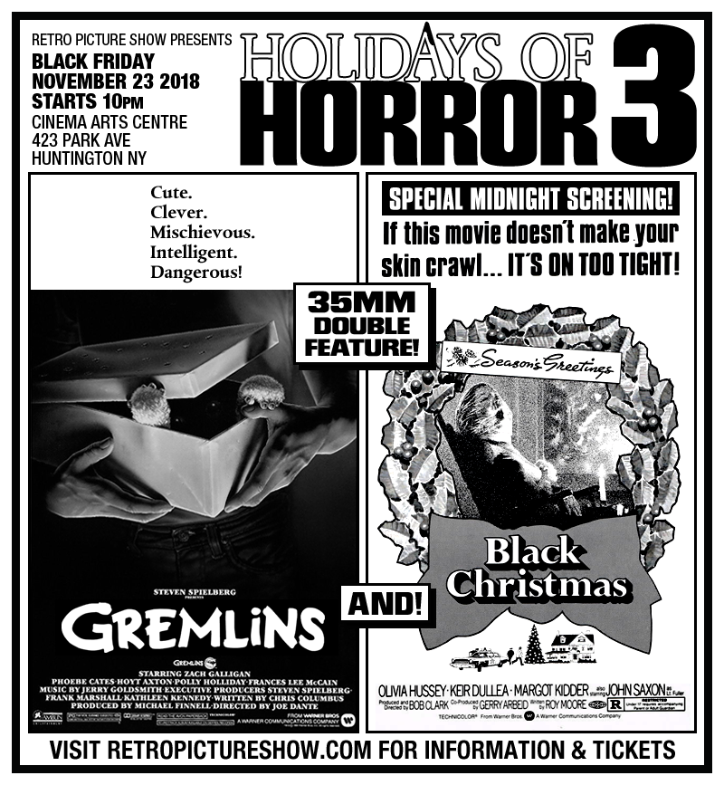 Holidays of Horror 3 (35mm Double Feature)