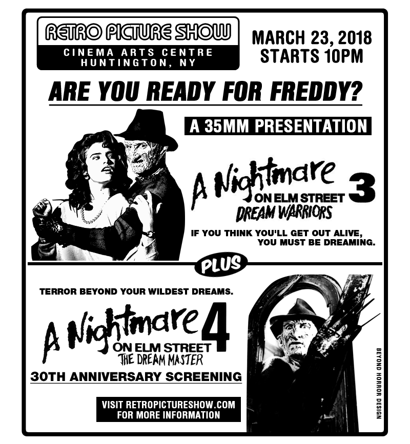 A Nightmare on Elm Street 3 & 4 (35mm Double Feature)