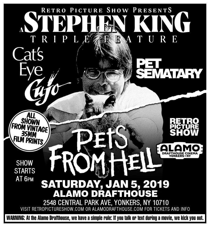 Pets from Hell: A Stephen King Triple Feature