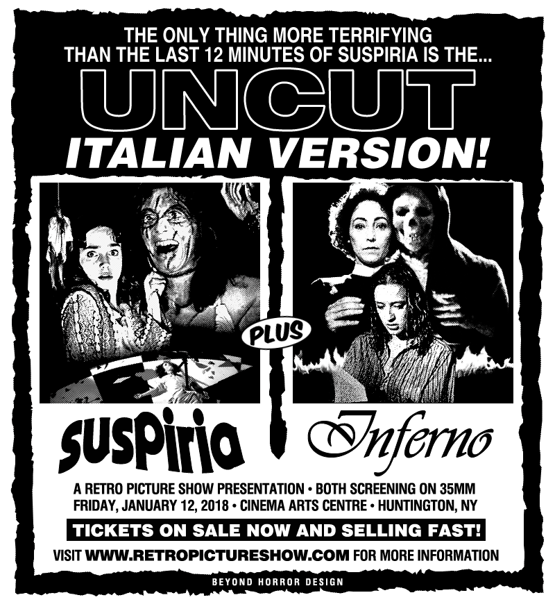 Suspiria & Inferno (35mm Double Feature)
