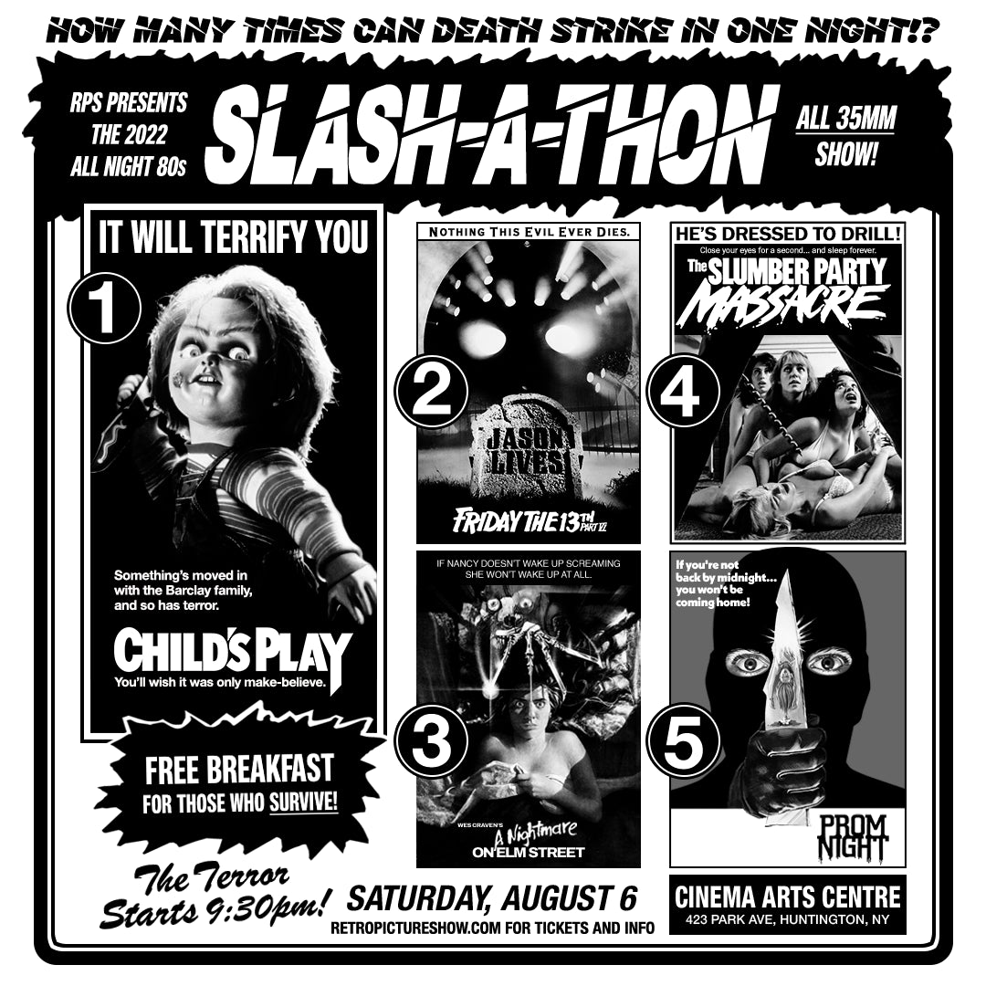 The Texas Chainsaw Massacre Parts 2 and 3 (35mm Double Feature)