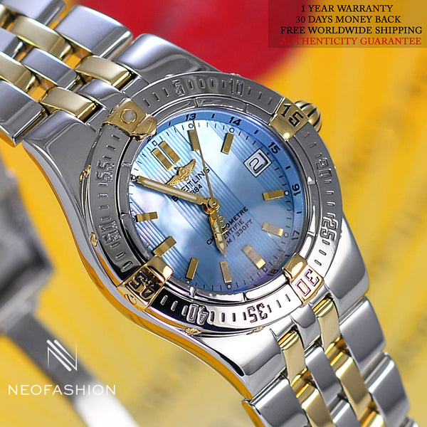 Breitling Starliner Ladies 18K/SS Mother Of Pearl B71340 - NeoFashionStore
