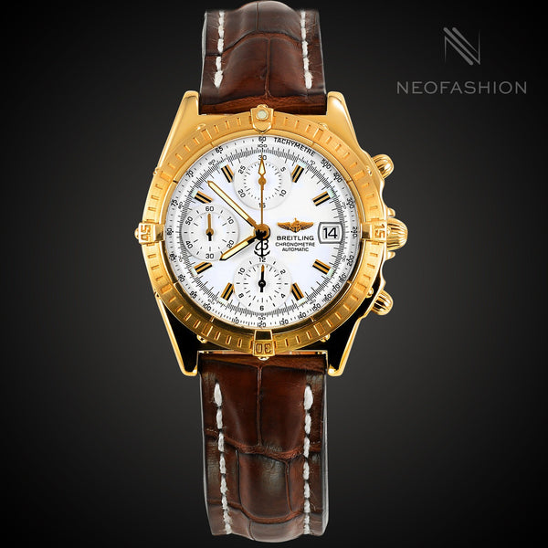 Breitling Chronomat 18K Yellow Gold K13352