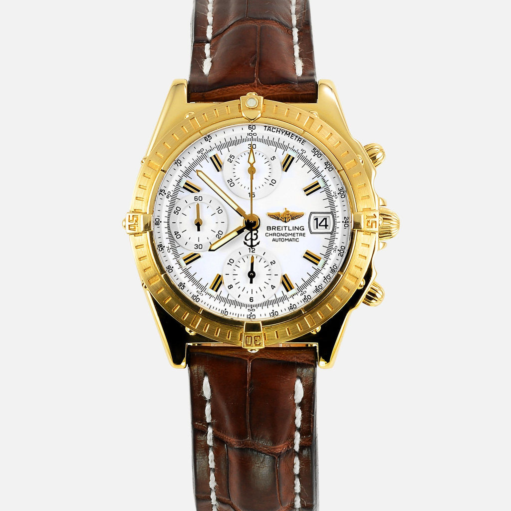 Breitling Chronomat 18K Yellow Gold K13352 - NeoFashionStore