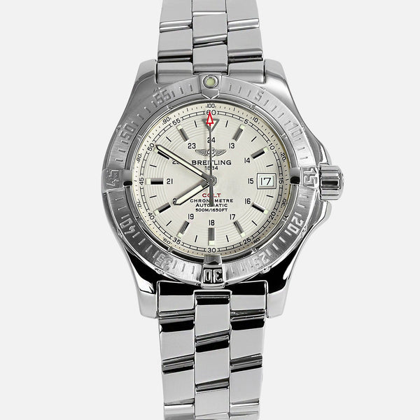 Breitling Colt Automatic II White Dial A17380 - NeoFashionStore