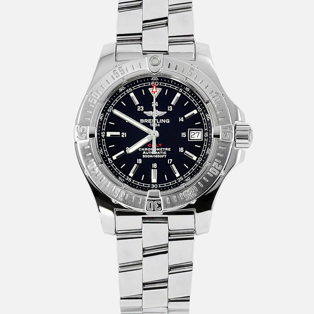 Breitling Colt Automatic II Black Dial A17380 - NeoFashionStore