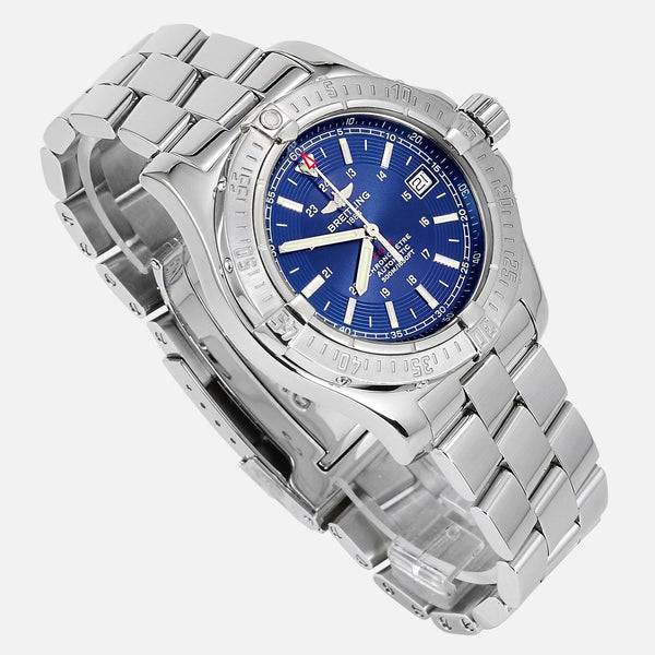 Breitling Colt Automatic II Blue Dial A17380 - NeoFashionStore