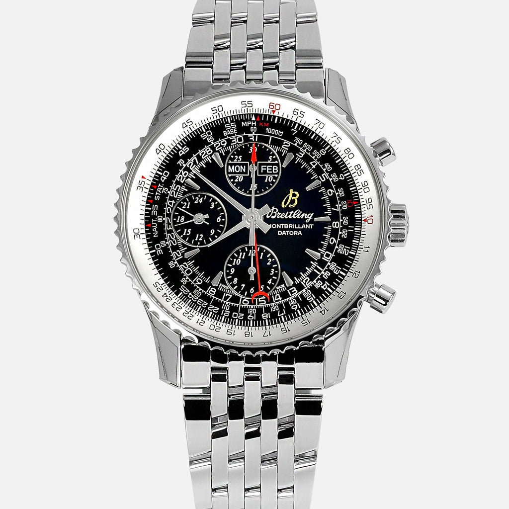 Breitling Navitimer Montbrillant Datora A21330 Mens Luxury Watch - NeoFashionStore
