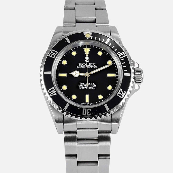 Rolex Oyster Perpetual Submariner 14060 Tiffany Full Set