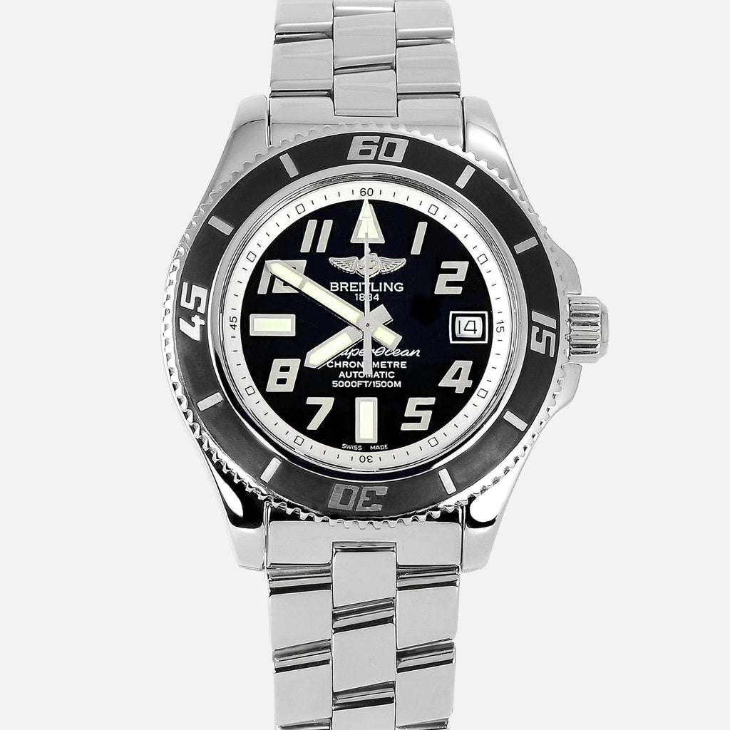 Breitling Superocean Abyss Black Dial A17364 - NeoFashionStore