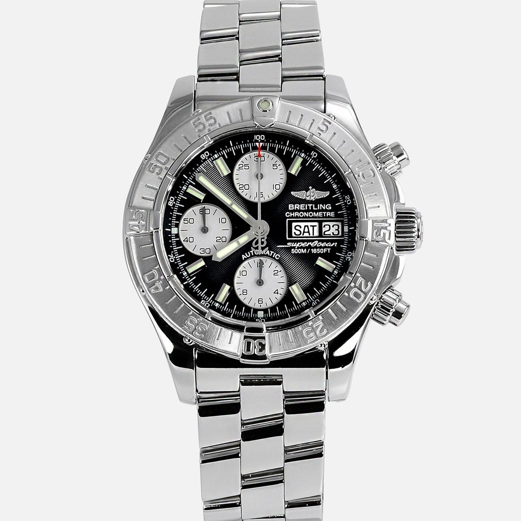 Breitling Superocean Chronograph Black Dial A13340 - NeoFashionStore