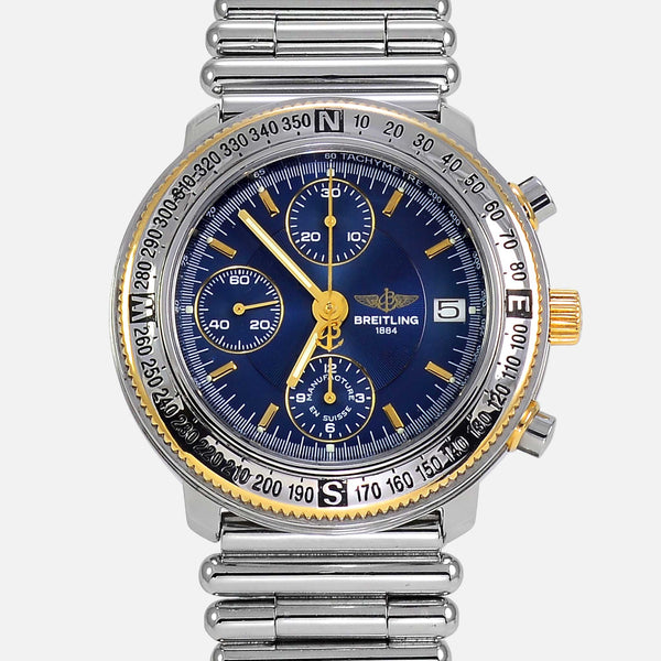 Breitling Astromat Chronograph Limited 18K Gold/SS D13405 - NeoFashionStore