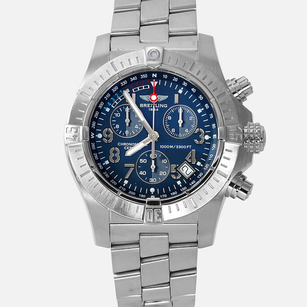 Breitling Avenger Seawolf Chronograph Blue Dial A73390 - NeoFashionStore