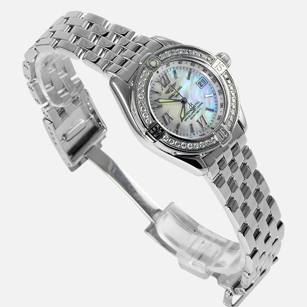 Breitling B-Class Ladies Chronometer VVS Diamond Bezel A67365 - NeoFashionStore