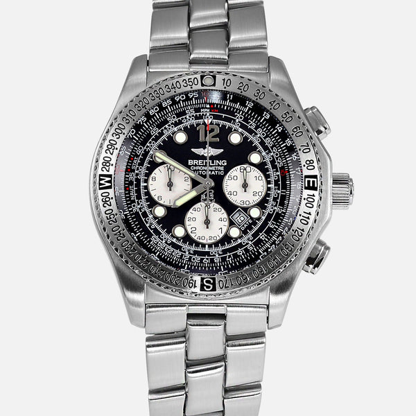 Breitling B2 Chronograph Automatic Black Dial Reference A42362