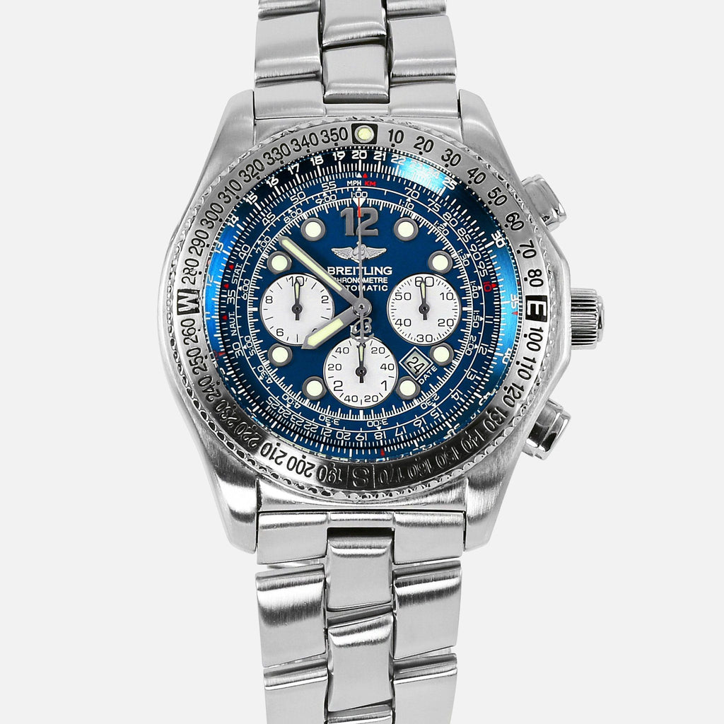 Breitling B2 Chronograph Blue Dial Automatic A42362 - NeoFashionStore