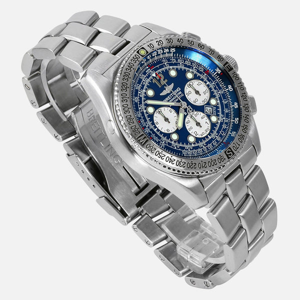 Breitling B2 Chronograph Automatic Blue Dial Reference A42362