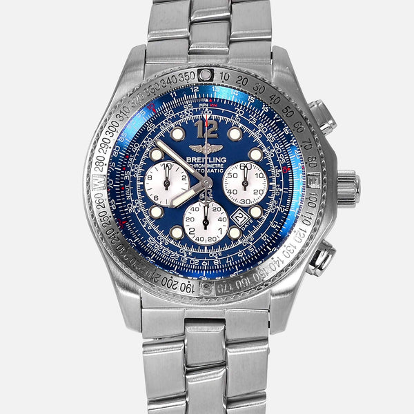 Breitling B2 Chronograph Automatic Blue Dial Reference A42362 - NeoFashionStore
