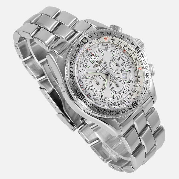 Breitling B2 Chronograph Automatic White Dial A42362 - NeoFashion Store