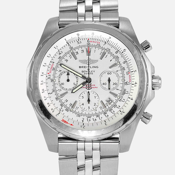 Breitling For Bentley Motors T Edition White Dial A25363
