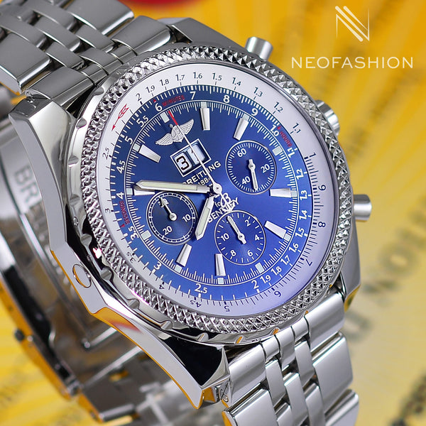 Breitling Bentley Motors Speed 6.75 Blue Dial A44362