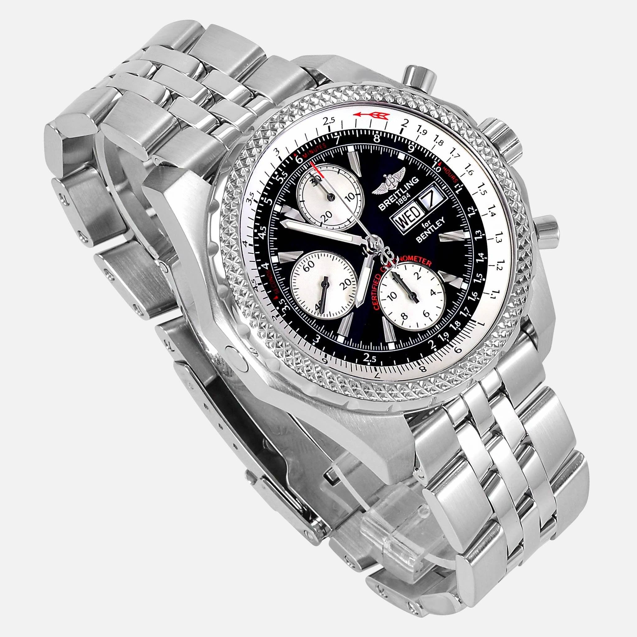 Breitling For Bentley Gt Continental Black Dial A13363 Neofashion
