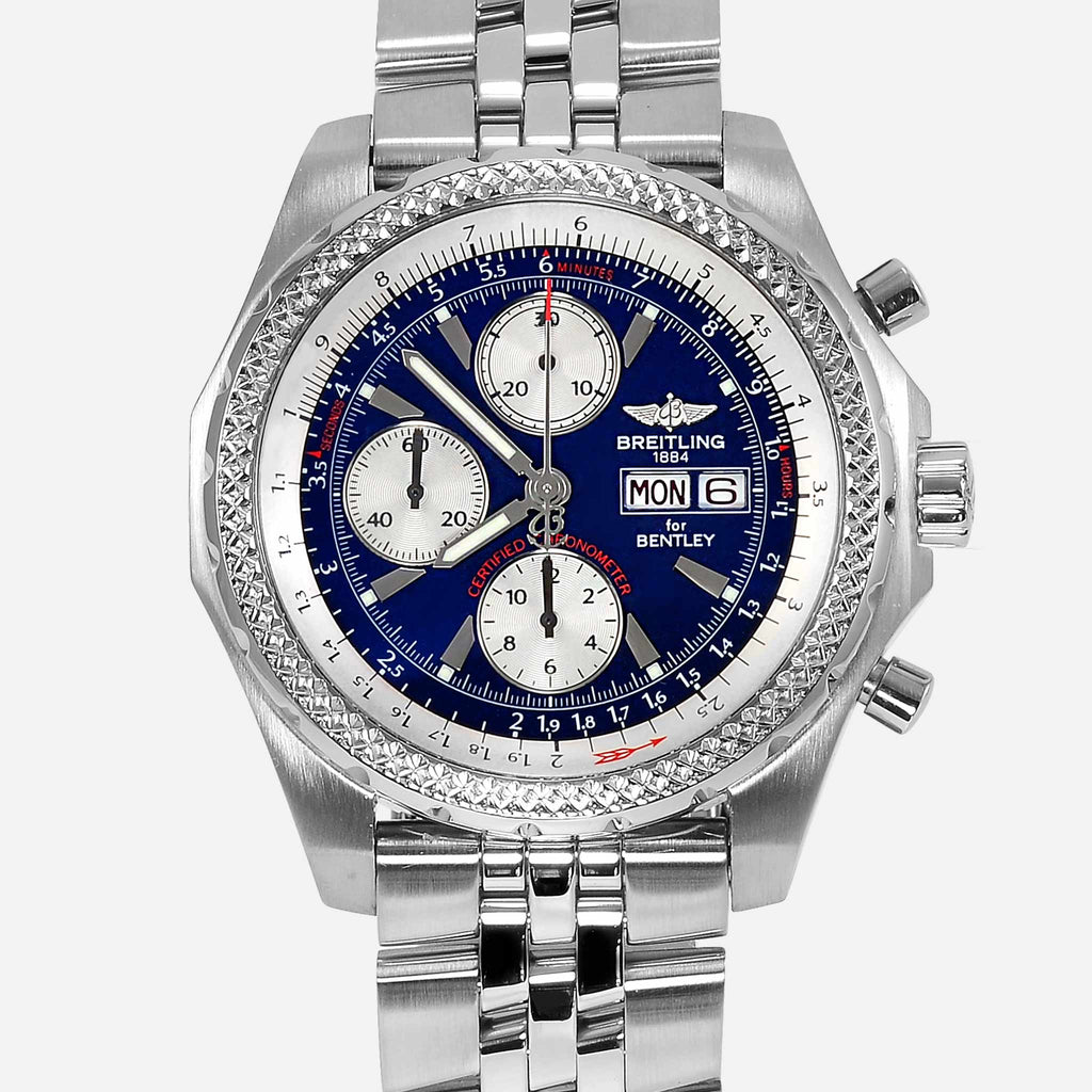 Breitling For Bentley GT Continental Blue Dial A13363 - NeoFashionStore