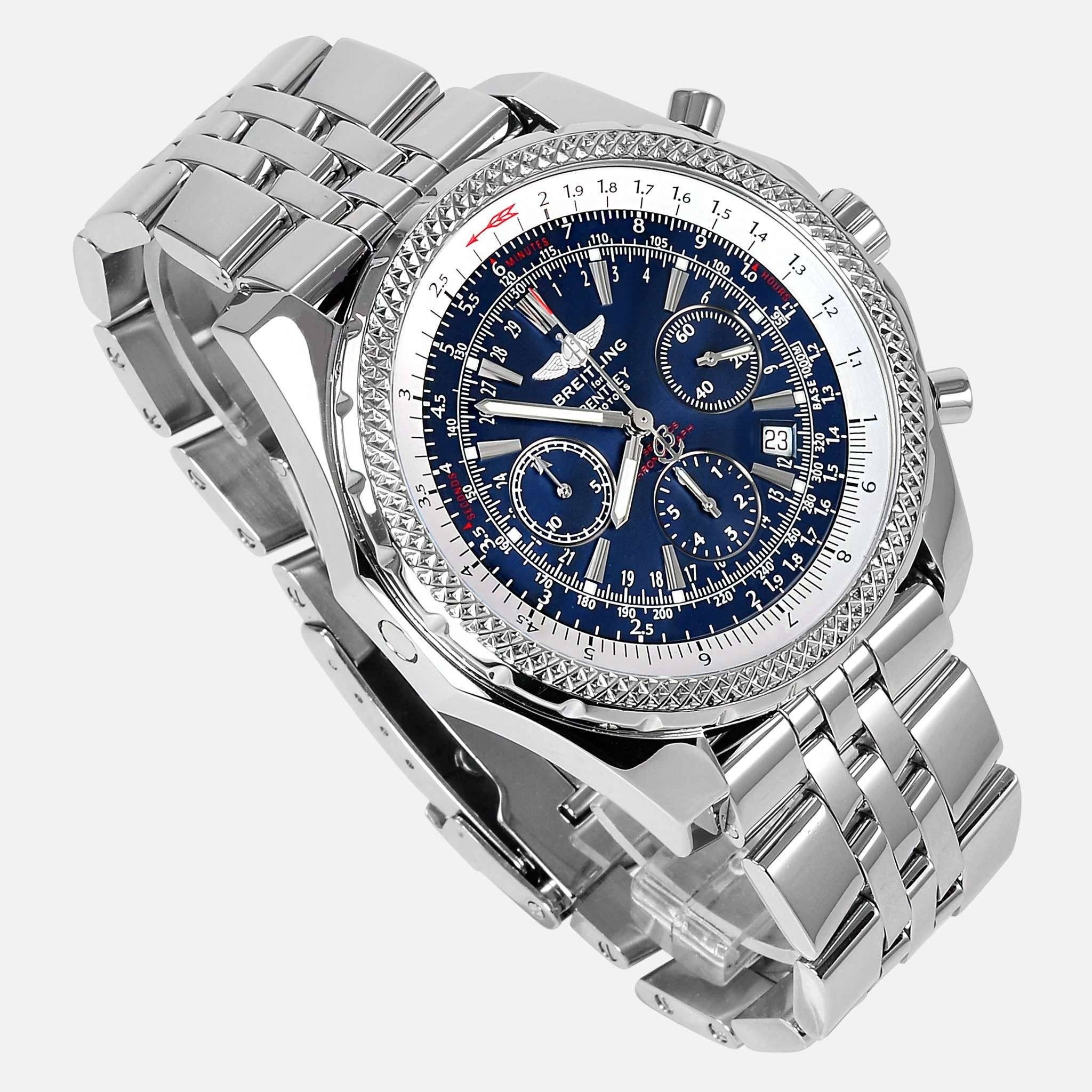 Breitling For Bentley Motors Special Blue Dial Edition