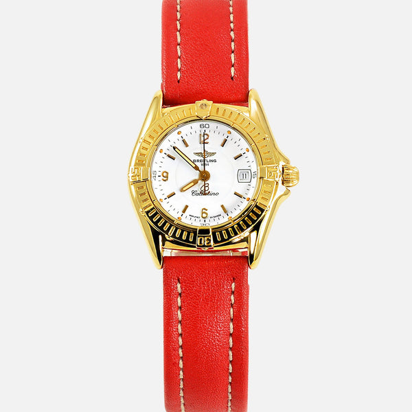 Breitling Callistino Ladies 18K Yellow Gold K52045 - NeoFashionStore