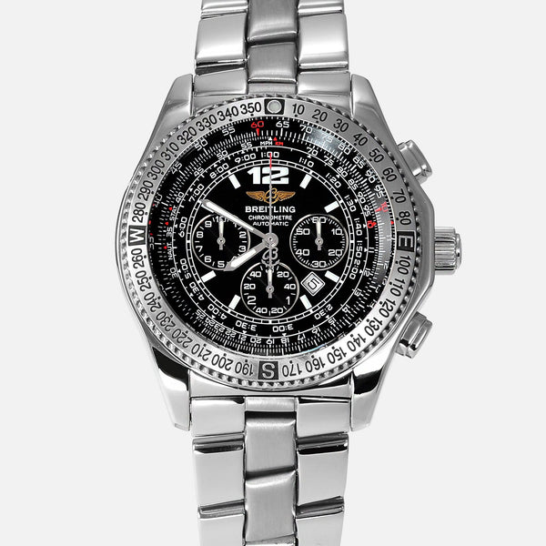 Breitling B2 Chronograph Black Dial Automatic Reference A42362 - NeoFashionStore
