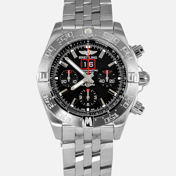 Breitling Chronomat Blackbird Limited Black Dial A44360