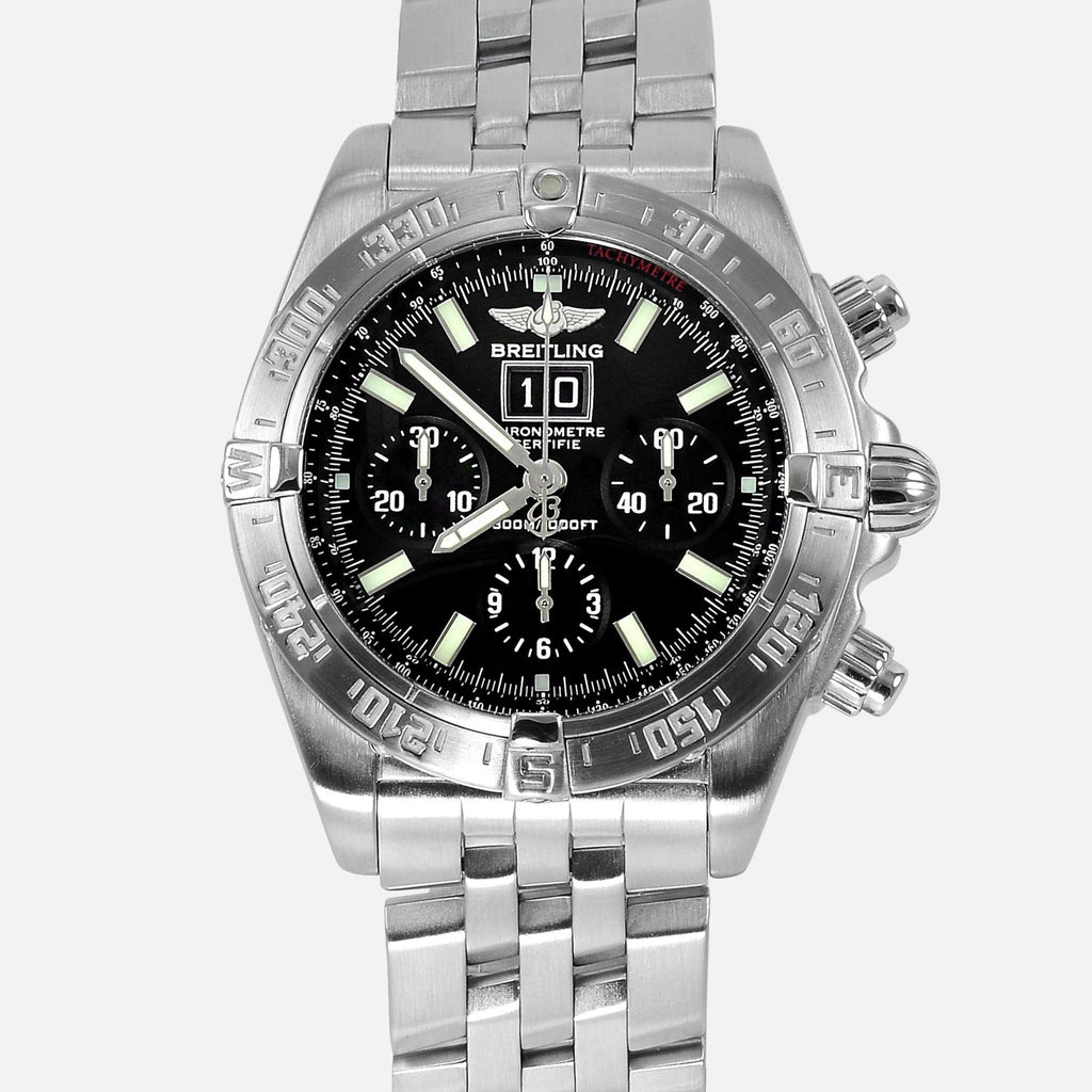 Breitling Chronomat Blackbird Black Dial A44359 - NeoFashion Store