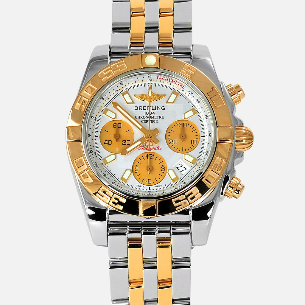 Breitling Chronomat 41mm 18K Rose Gold/Steel CB0140 - NeoFashionStore
