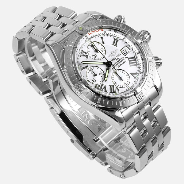 Breitling Chronomat Evolution White Dial A13356