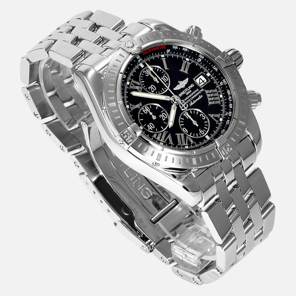 Breitling Chronomat Evolution Black Dial A13356