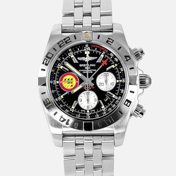 Breitling Chronomat GMT 44 Limited Edition Patrouille Suisse AB0420 - NeoFashion Store