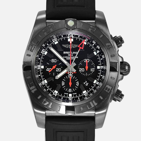 Breitling Chronomat GMT 47mm Limited Black PVD MB0413 - NeoFashionStore