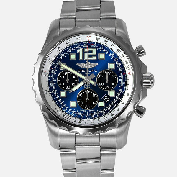 Breitling Chronospace Automatic Blue Dial A23360 - NeoFashionStore