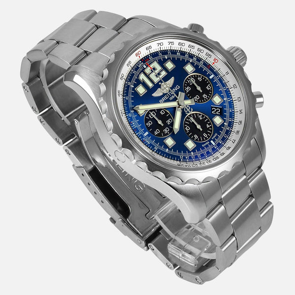 Breitling Chronospace Automatic Blue Dial A23360 - NeoFashion Store